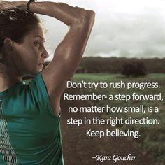 My friend/teammate, Kara, is so wise!